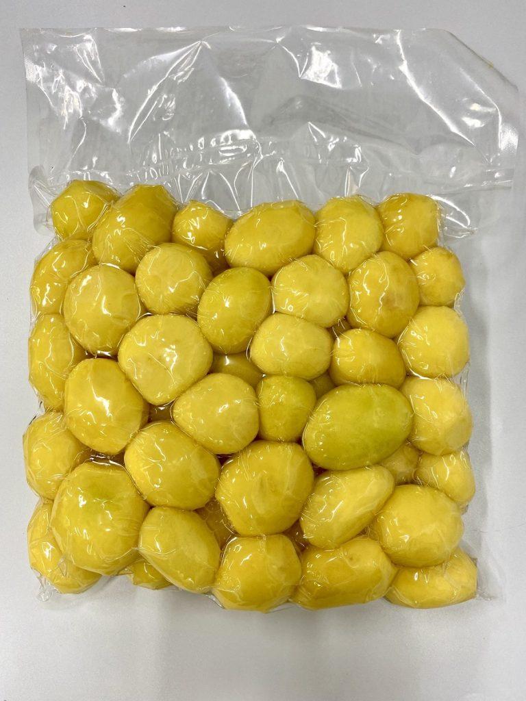 Ziemniaki obrane próżniowo pakowane